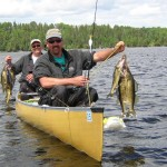 BWCA Canoe Fishing