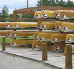 spirit canoe rack