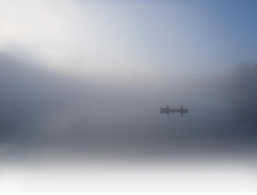 Slim Lake at dawn