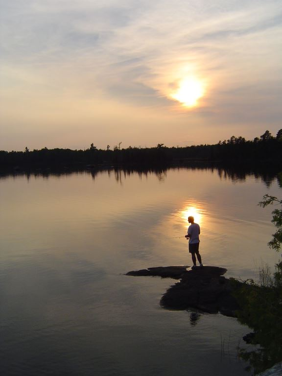 Fishing in the Boundary Waters